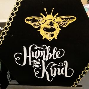 A be humble and kind sign also transfer for it sol